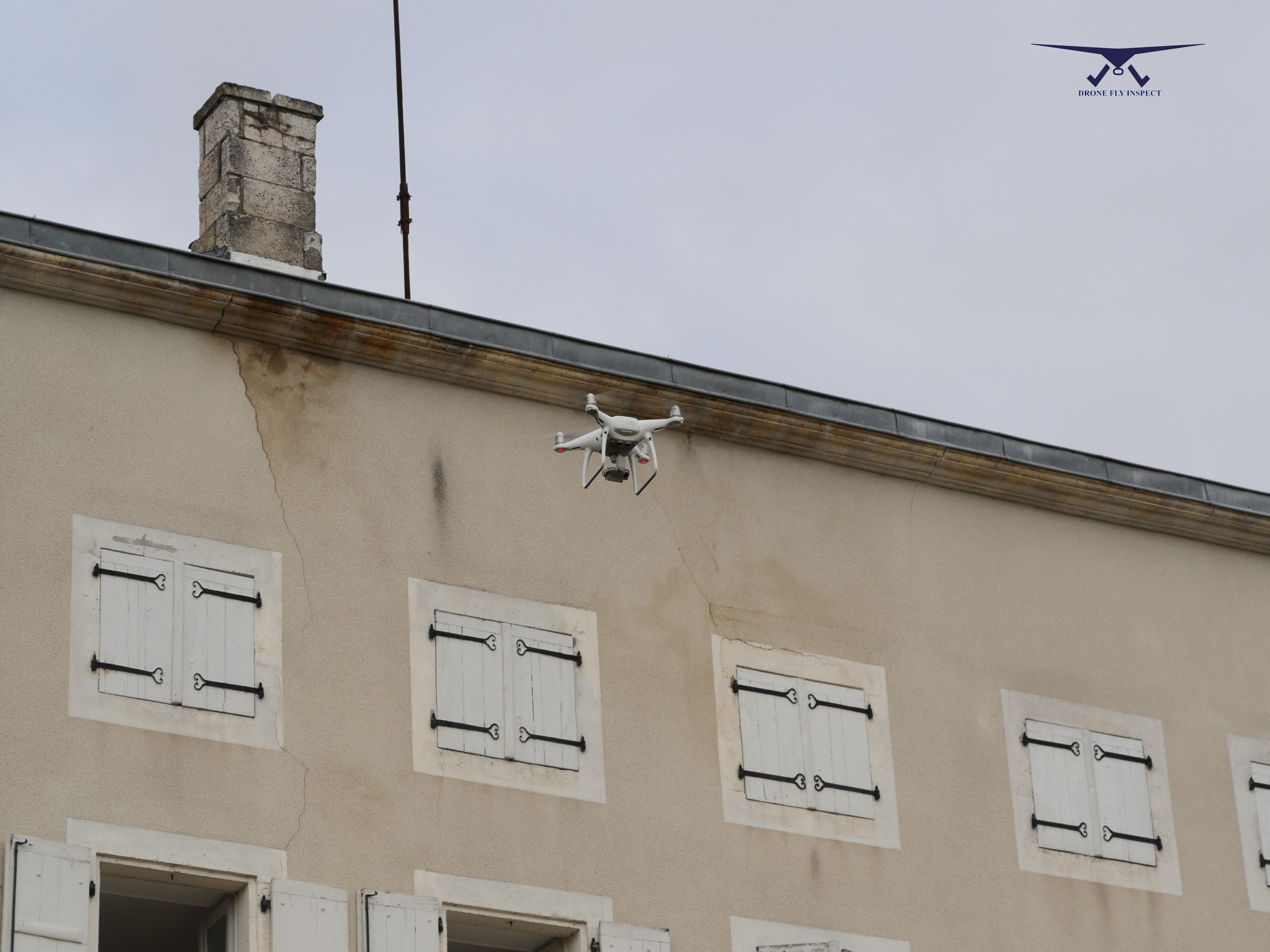 inspection technique d 39 une toiture pour l 39 entreprise guerin drone fly inspect. Black Bedroom Furniture Sets. Home Design Ideas